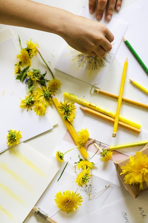 DandelionCARD_painting