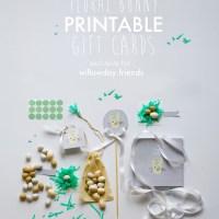 FREE PRINTABLE BUNNY GIFT CARDS