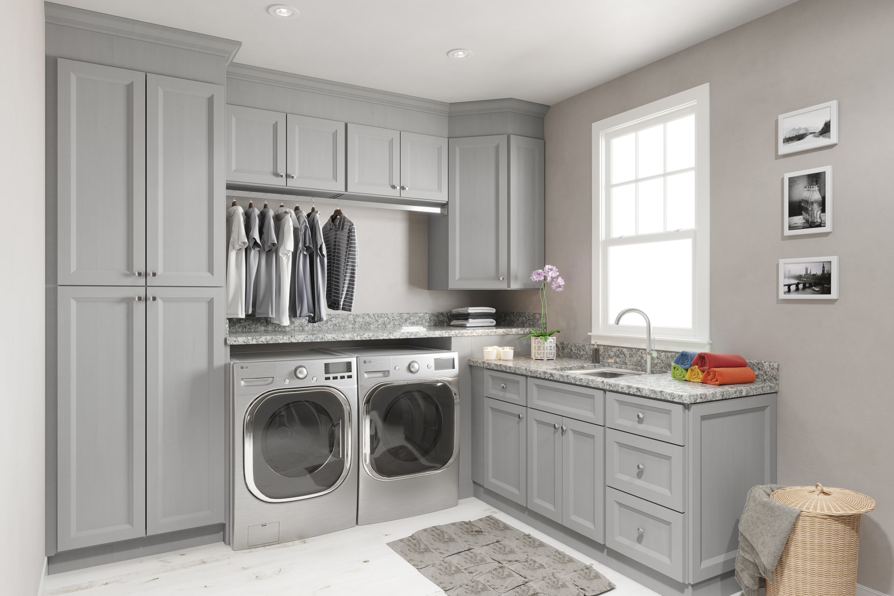 High Quality Laundry Room Cabinets - Willow Lane Cabinetry on Laundry Cabinets  id=12683