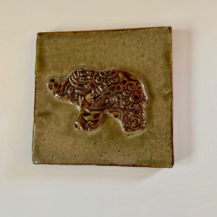 Tile elephant
