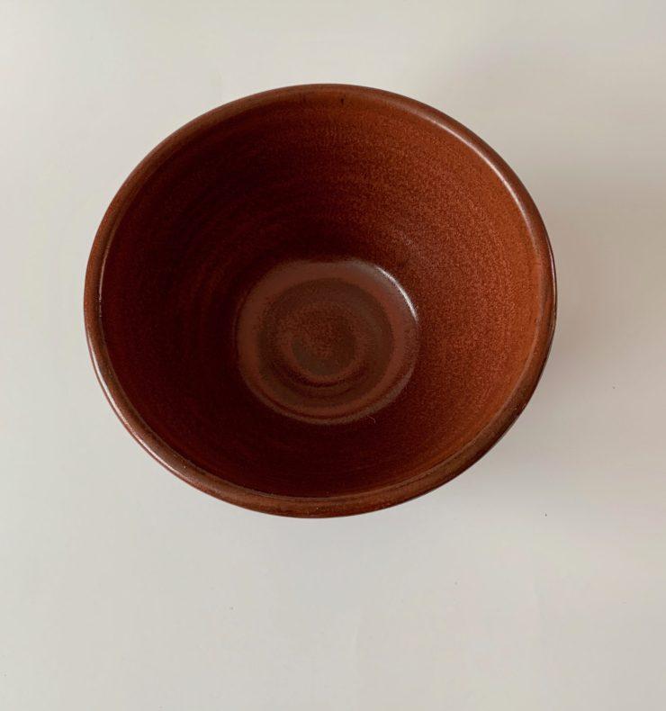 Rustic Red Bowl