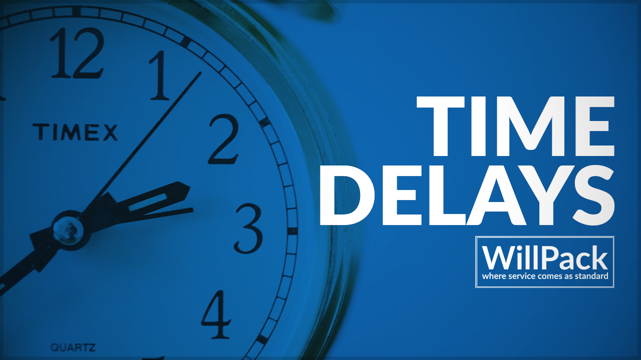Clock, blue, time, delay, willpack, logo