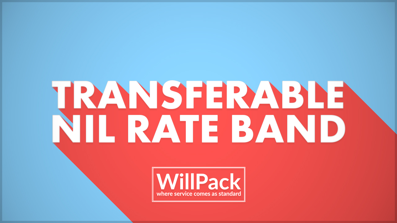 Transferable Nil Rate Band, NRB, Nil Rate Band, Blue, red, white, text, font, logo, willpack,