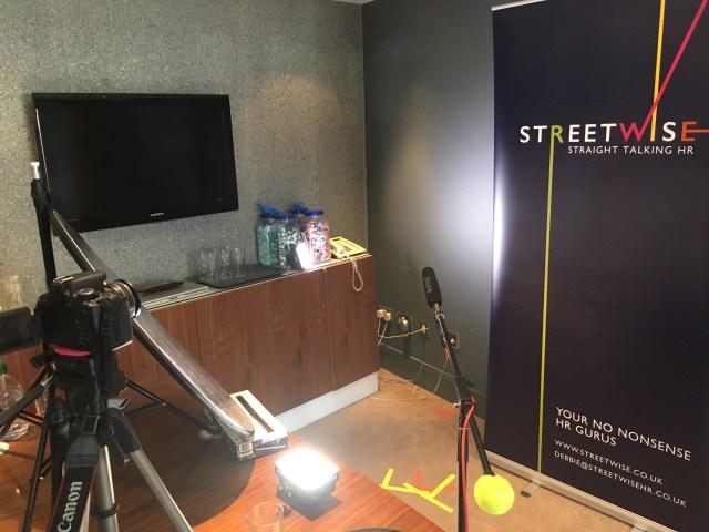 Street Wise HR - Lighting Set Up