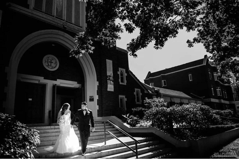 Vancouver church wedding