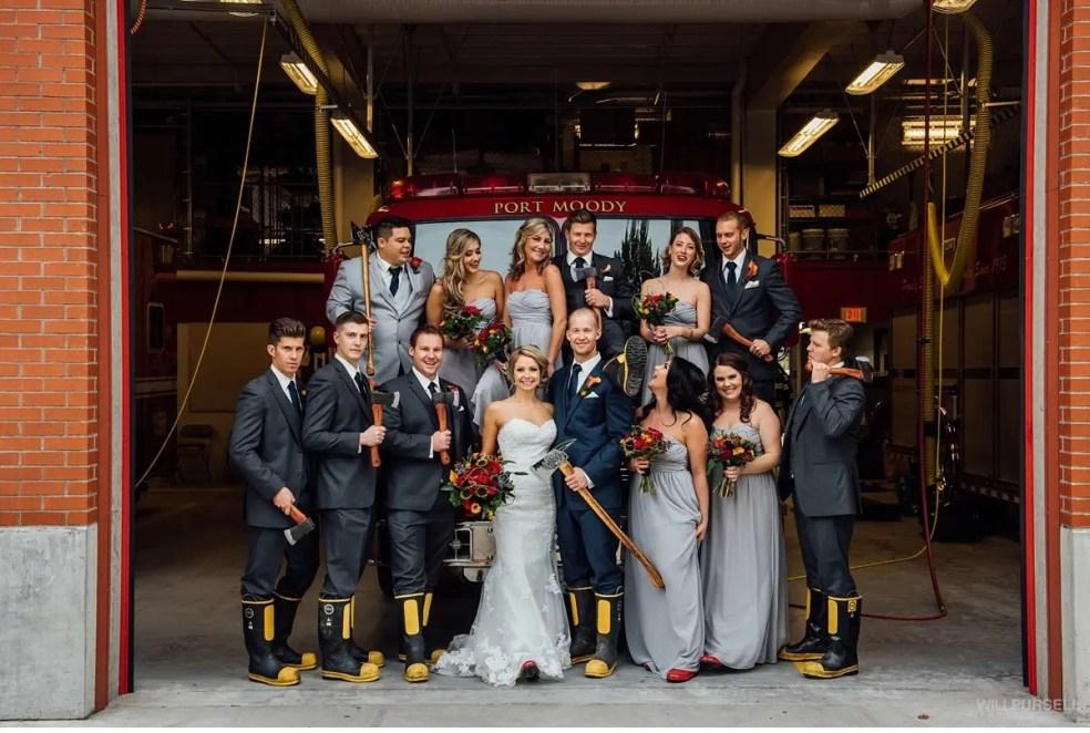 firehall wedding