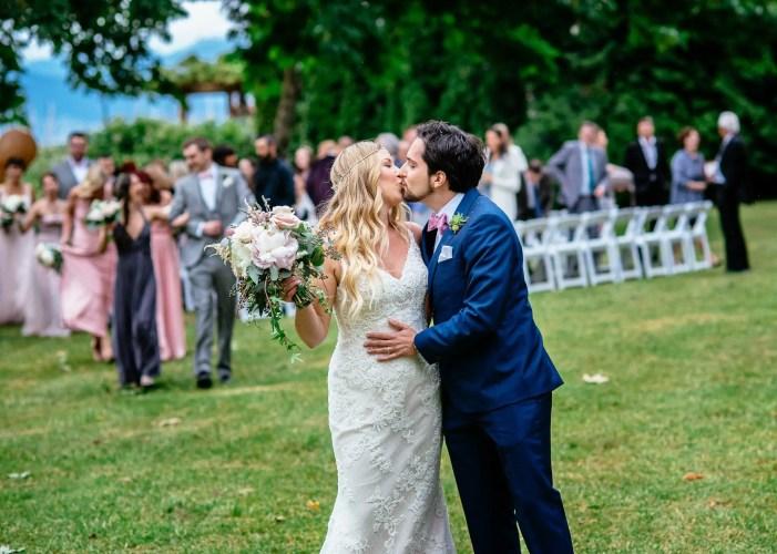 brock house outdoor wedding