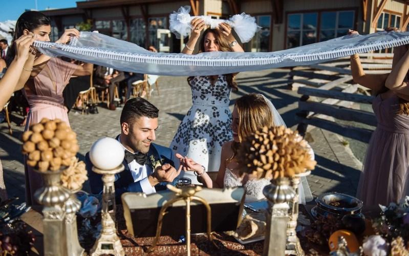 Sofreyeh Aghd wedding vancouver