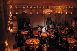 015 Rosewood Hotel Georgia ballroom wedding