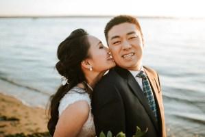 beach wedding vancouver