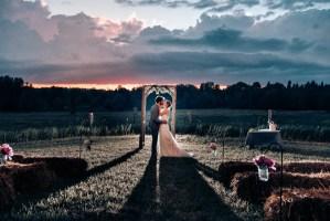 031 - sunset wedding photos ontario