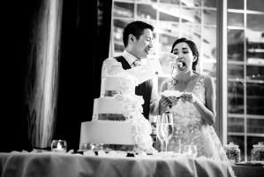 016 - wedding cake shangri-la vancouver
