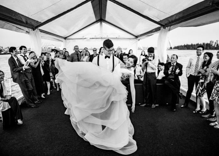 037 - Magic Yacht Charters wedding photos