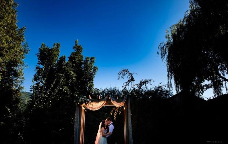 025 - arbour wedding ceremony