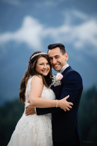 039 - classic mountain wedding photos