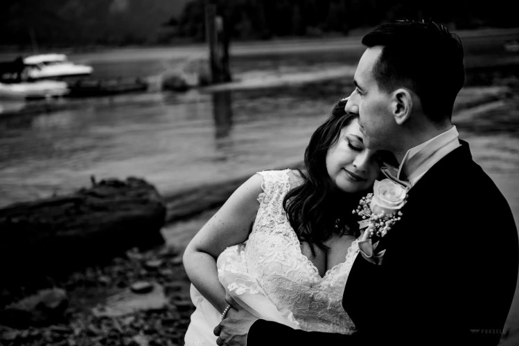 045 - black and white wedding