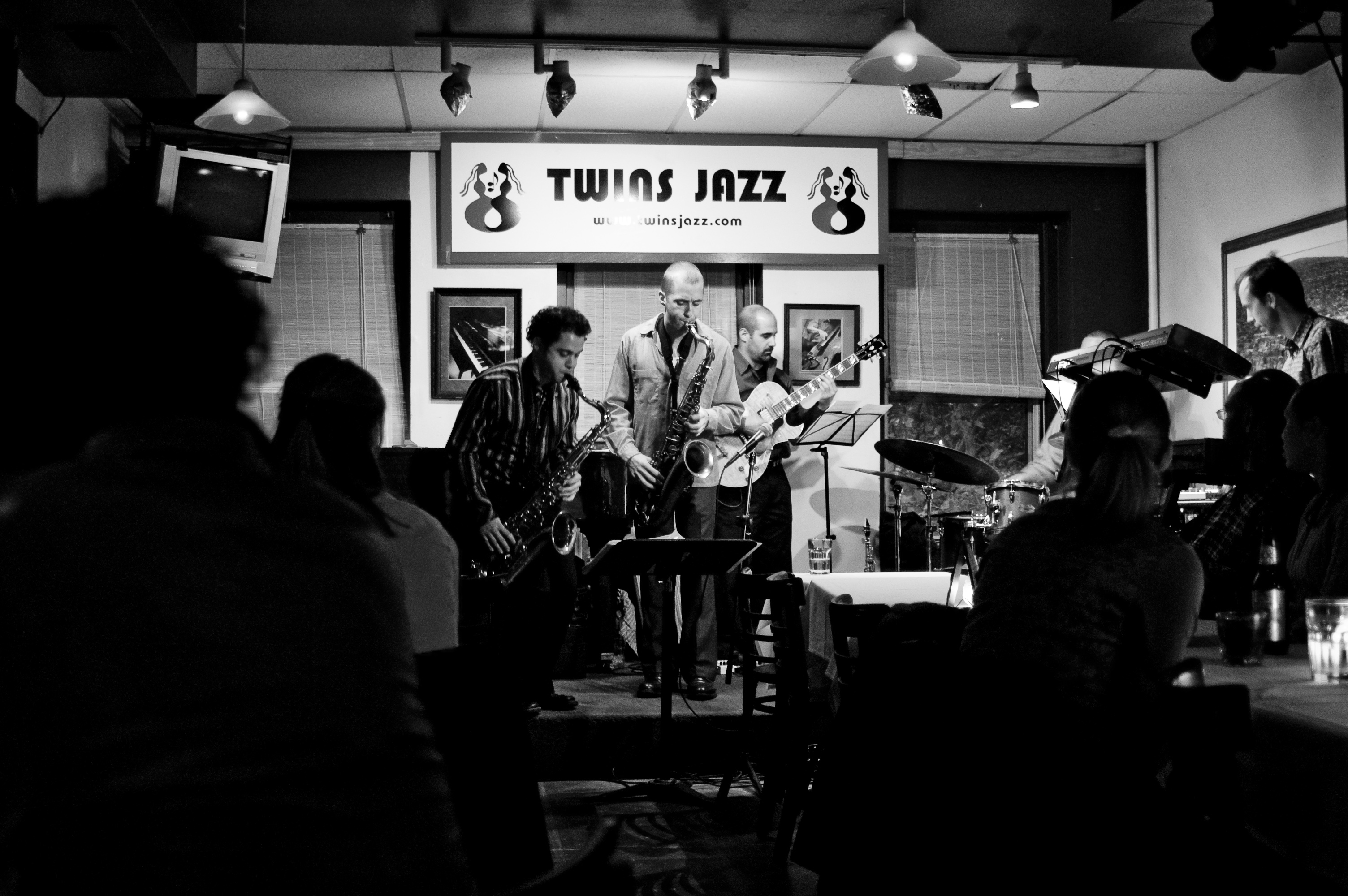 CC Booker III at Twins Jazz in Washington, DC