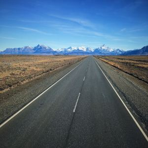 On the road to El Chaltén - Photo by Will Spencer