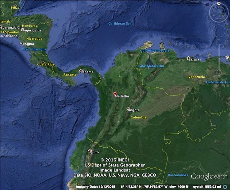 Medellin Map