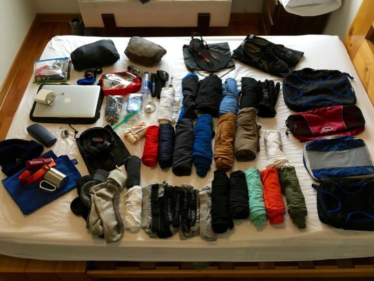 Almost everything I am traveling with.