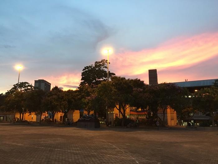 Medellin sunset