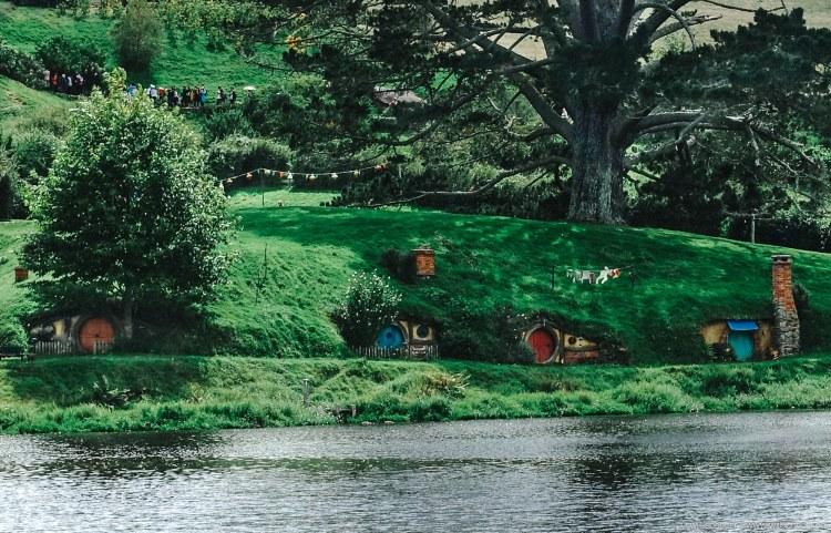 A Hobbiton neighborhood.
