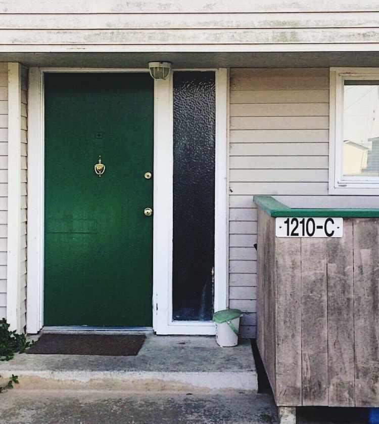 My old front door.