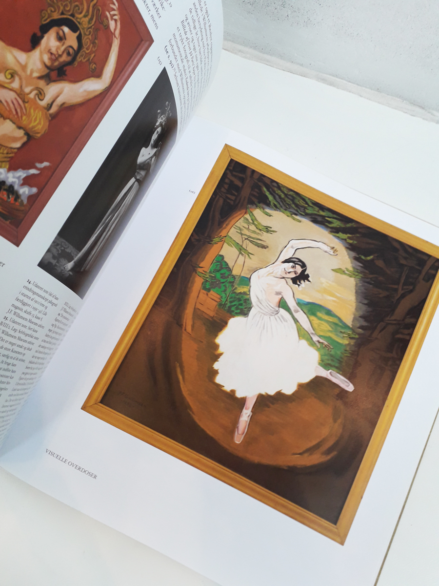 Cafe Dolly Picabia Schnabel Books about Willumsen English Opslag1