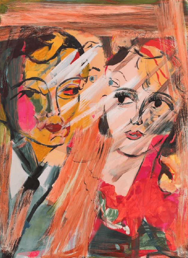 Jackie Gendel, An oblique look. 2011-12.