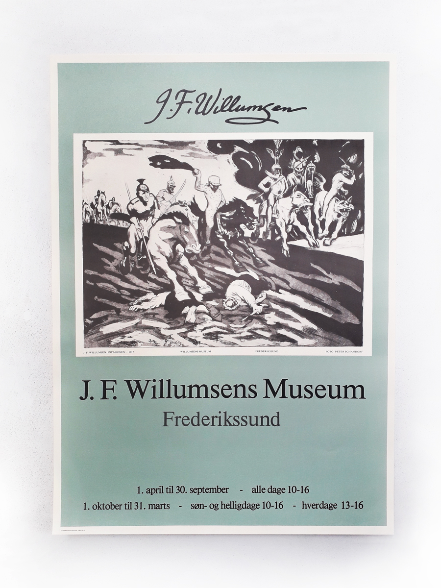 Invasionen Plakater Willumsens Museum