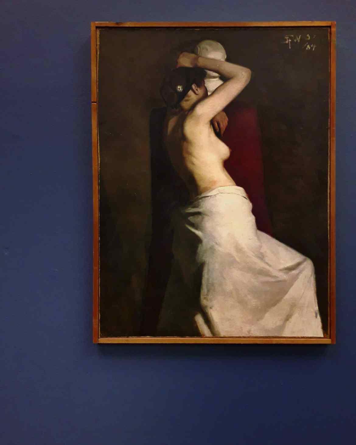 Kom med til Bag om kunsten på Willumsens museum. Om Fra klassisk til queer, Q* Bending Gender og Dagmar Hansen