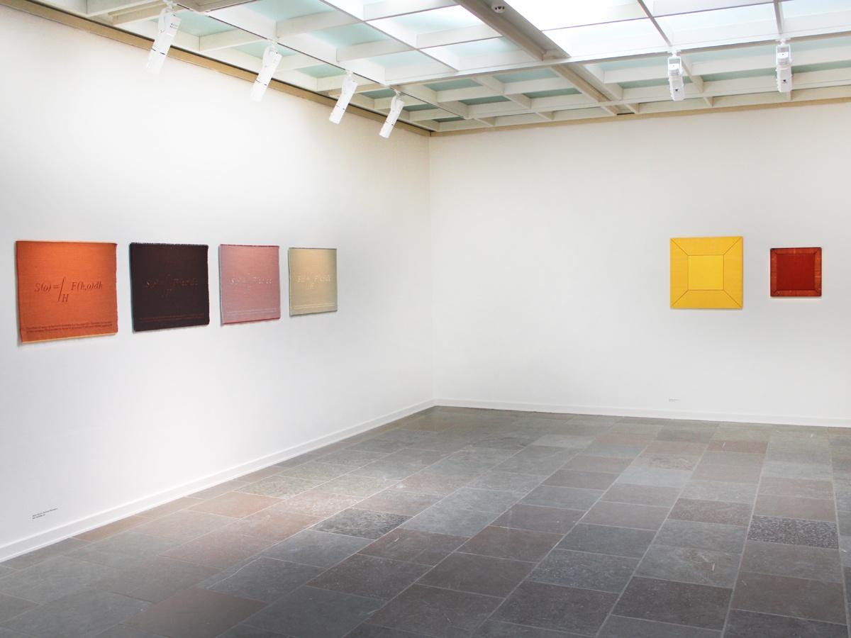 Installationsview af værker af Margrethe Odgaard