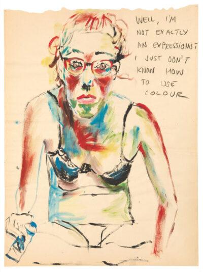 Elke Krystufek. Not Exactly an Expressionist