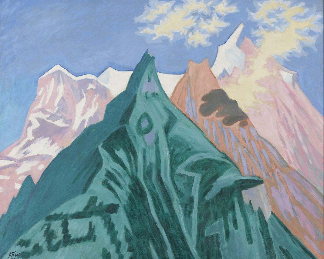 Naturens skjolder, bjergene med de tre farver