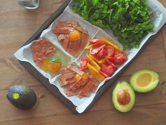 Avocado Easy Tray Bake Breakfast Recipe