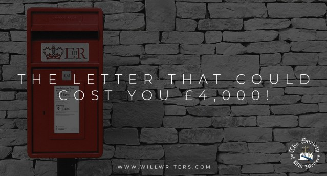 The letter that could cost you £4,000!