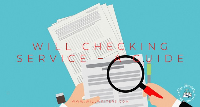 Will Checking Service – A Guide