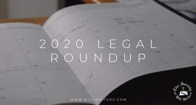 2020 Legal Roundup