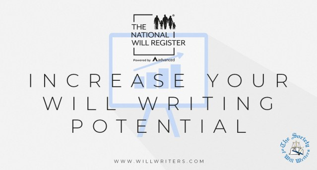 Recognise your Will writing potential