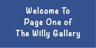 Welcome to Page One of The Willy Gallery - This Gallery shows flaccid and erect penis pictures from a range of men.