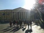 gruppe vor Palast