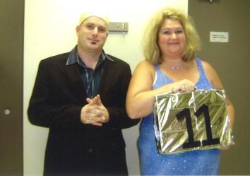 Paula with Mike