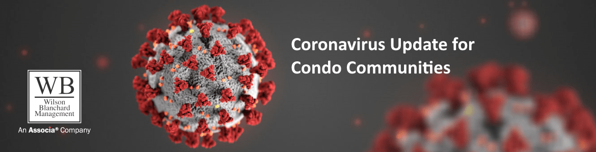 Coronavirus Update for Condo Communities.