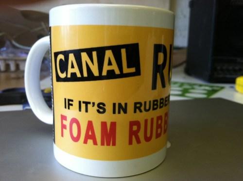 Canal Rubber Mug