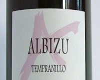 Albizu Tempranillo 2015, Spain