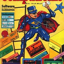 [Game / C64] Mr. Postman (1986)