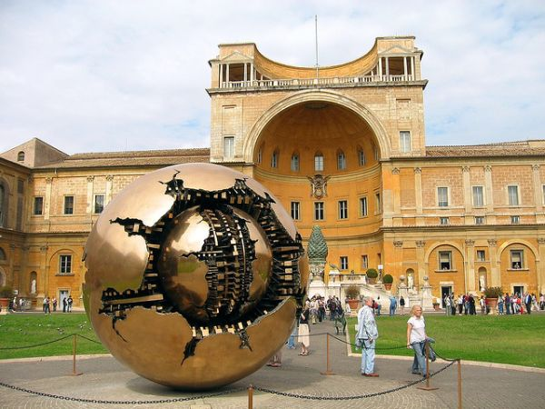 vatican sphere with a sphere