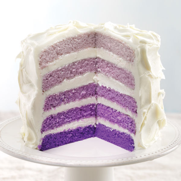 Ombre Cake Recipe Wilton