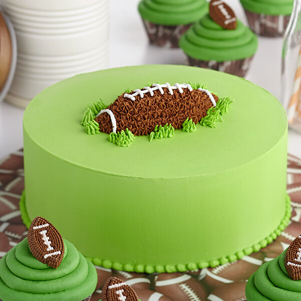 First Down And Fun Football Cake Wilton