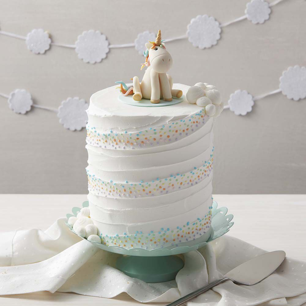 Whimsical Unicorn Cake Wilton